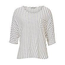Buy Betty & Co. Striped Top, White/Dark Blue Online at johnlewis.com