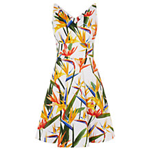 Buy Karen Millen Birds of Paradise Dress, Multi Online at johnlewis.com