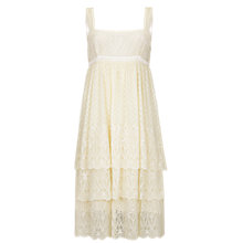 Buy Ghost Lacey Dress, Ivory Online at johnlewis.com