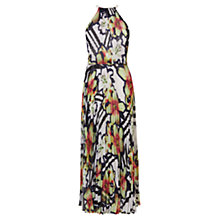 Buy Karen Millen Fluid Stripe Maxi Dress, Multi Online at johnlewis.com