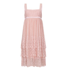 Buy Ghost Lacey Dress, Nude Online at johnlewis.com
