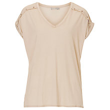 Buy Betty & Co. V-Neck Top, Pastel Sand Online at johnlewis.com