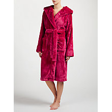 Buy John Lewis Shimmer Fleece Hooded Robe Online at johnlewis.com