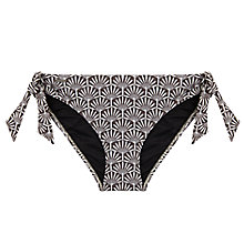Buy Beach by Mint Velvet Bianca Print Bikini Bottoms, Multi Online at johnlewis.com