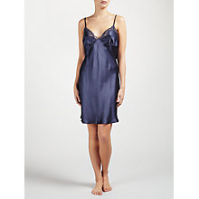 Buy John Lewis Silk Lace Trim Chemise Online at johnlewis.com