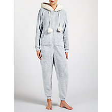 Buy John Lewis Novelty Onesie, Grey Online at johnlewis.com