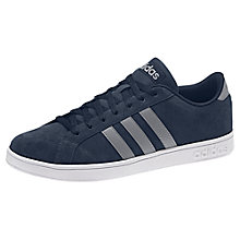 Buy Adidas Baseline Men's Trainers, Navy/Multi Online at johnlewis.com