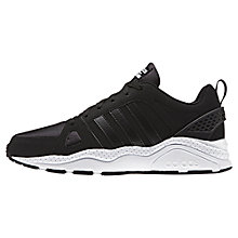 Buy Adidas Neo Cloudform Chaos Women's Trainers, Black Online at johnlewis.com