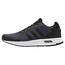 Buy Adidas Neo Cloudfoam Flyer Men's Trainers, Grey Online at johnlewis.com