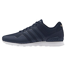 Buy Adidas Neo 10K Casual Men's Trainers, Navy Online at johnlewis.com