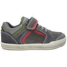 Buy Geox Children's Elvis Trainers, Grey Online at johnlewis.com