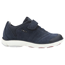 Buy Geox Children's Nebula Breathable Trainers, Navy Online at johnlewis.com