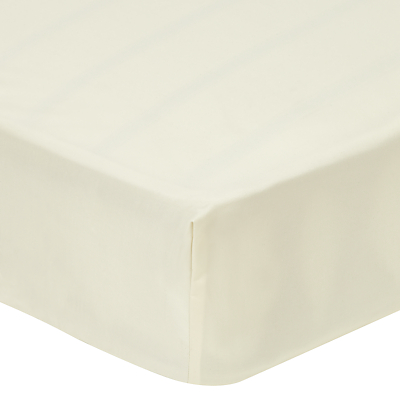 John Lewis 500 Thread Count Cotton Tencel Deep Fitted Sheet