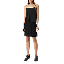 Buy AllSaints Mira Dress, Black Online at johnlewis.com