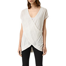 Buy AllSaints Short Sleeve Twist Jumper Online at johnlewis.com