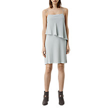 Buy AllSaints Mira Dress, Mirage Grey Online at johnlewis.com