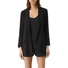 Buy AllSaints Olenna Blazer, Ink Blue Online at johnlewis.com