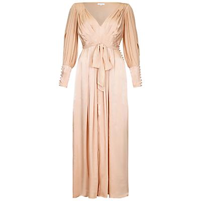 Ghost Jazmine Dress Pink Sand £345.00 AT vintagedancer.com