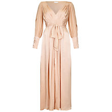 Buy Ghost Jazmine Dress, Pink Sand Online at johnlewis.com