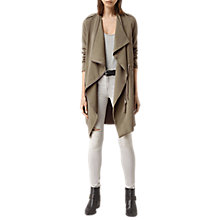 Buy AllSaints Ellaria Coat, Sage Green Online at johnlewis.com