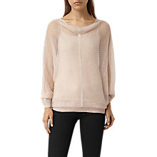 Buy AllSaints Elgar Lev Cowl Jumper Online at johnlewis.com