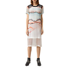 Buy AllSaints Kia Crystal Dress, Pink Online at johnlewis.com