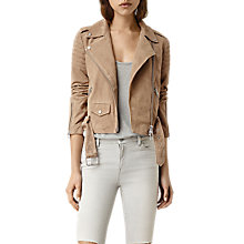Buy AllSaints Hitchen Biker Jacket Online at johnlewis.com