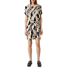 Buy AllSaints Sonny Fuji Dress, Black Online at johnlewis.com