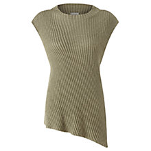 Buy Jigsaw Linen Sleeveless Jumper, Spring Meadow Online at johnlewis.com