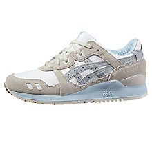 Buy Asics Tiger Gel Lyte III Women's Trainers, White/Multi Online at johnlewis.com