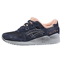 Buy Asics Tiger Gel-Lyte III Women's Trainers, Navy/Multi Online at johnlewis.com