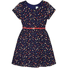 Buy Yumi Girl Ditsy Lace Skater Dress, Navy Online at johnlewis.com