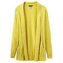 Buy Joules Keva Cardigan, Bright Lime Slub Online at johnlewis.com
