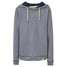 Buy Joules Marlston Lightweight Hoodie, French Navy Stripe Online at johnlewis.com