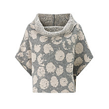 Buy Crea Concept Spotted Wool-Blend Jumper, Stone/Grey Online at johnlewis.com
