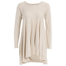 Buy Max Studio Pointelle Hem Jumper, Heather Bone Online at johnlewis.com