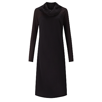 Crea Concept Roll Neck Dress, Black