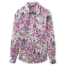 Buy Joules Lucie Ditsy Floral Print Shirt, Cream Scatter Online at johnlewis.com