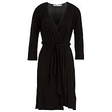Buy Max Studio Jersey Wrap Dress, Black Online at johnlewis.com