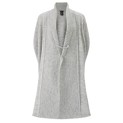 Crea Concept Oversized Cardigan, Silver Grey