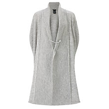 Buy Crea Concept Oversized Cardigan, Silver Grey Online at johnlewis.com