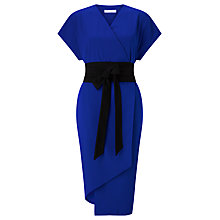 Buy Finery Sanford Obi Wrap Dress, Blue Online at johnlewis.com