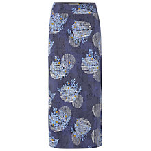 Buy White Stuff Graphite Maxi Skirt, Cornflower Blue Online at johnlewis.com