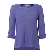 Buy White Stuff Paint Pot Jumper, Cornflower Blue Online at johnlewis.com