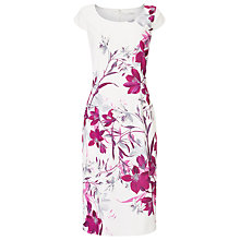 Buy Jacques Vert Bali Floral Print Dress, Multi Online at johnlewis.com
