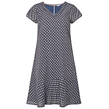Buy White Stuff Poppy Peplum Dress, Blue Online at johnlewis.com