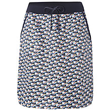 Buy White Stuff Doodle Print Skirt, Illustrator Blue Online at johnlewis.com