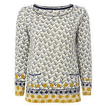 Buy White Stuff Birdflock Jumper, Multi Online at johnlewis.com