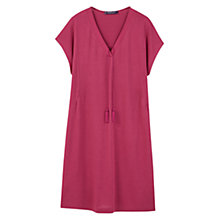 Buy Violeta by Mango Cord Textured Dress, Medium Purple Online at johnlewis.com