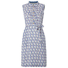 Buy White Stuff Sketch Book Dress, Cornflower Blue Online at johnlewis.com